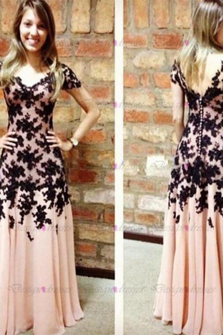 Prom Dress,Discount Prom Dress,Custom Prom Dress,lace Prom Dress,Chiffon Prom Dress,2016 Prom Dress,Handmade Prom Dress,Long Prom Dress,Dress For Prom NO.1